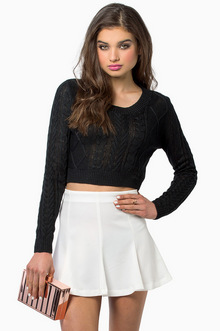 Amy Cropped Sweater | Tobi