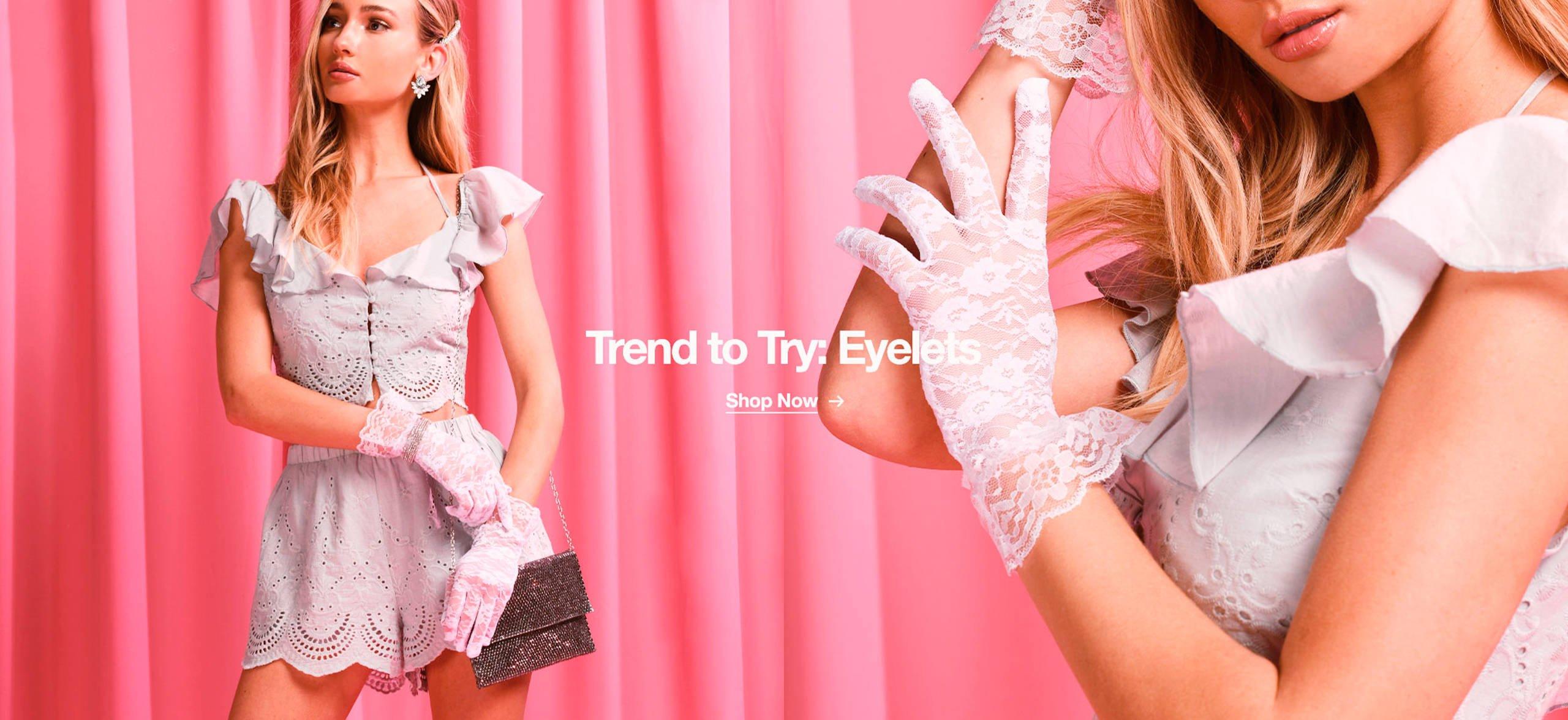 Trend: Eyelet