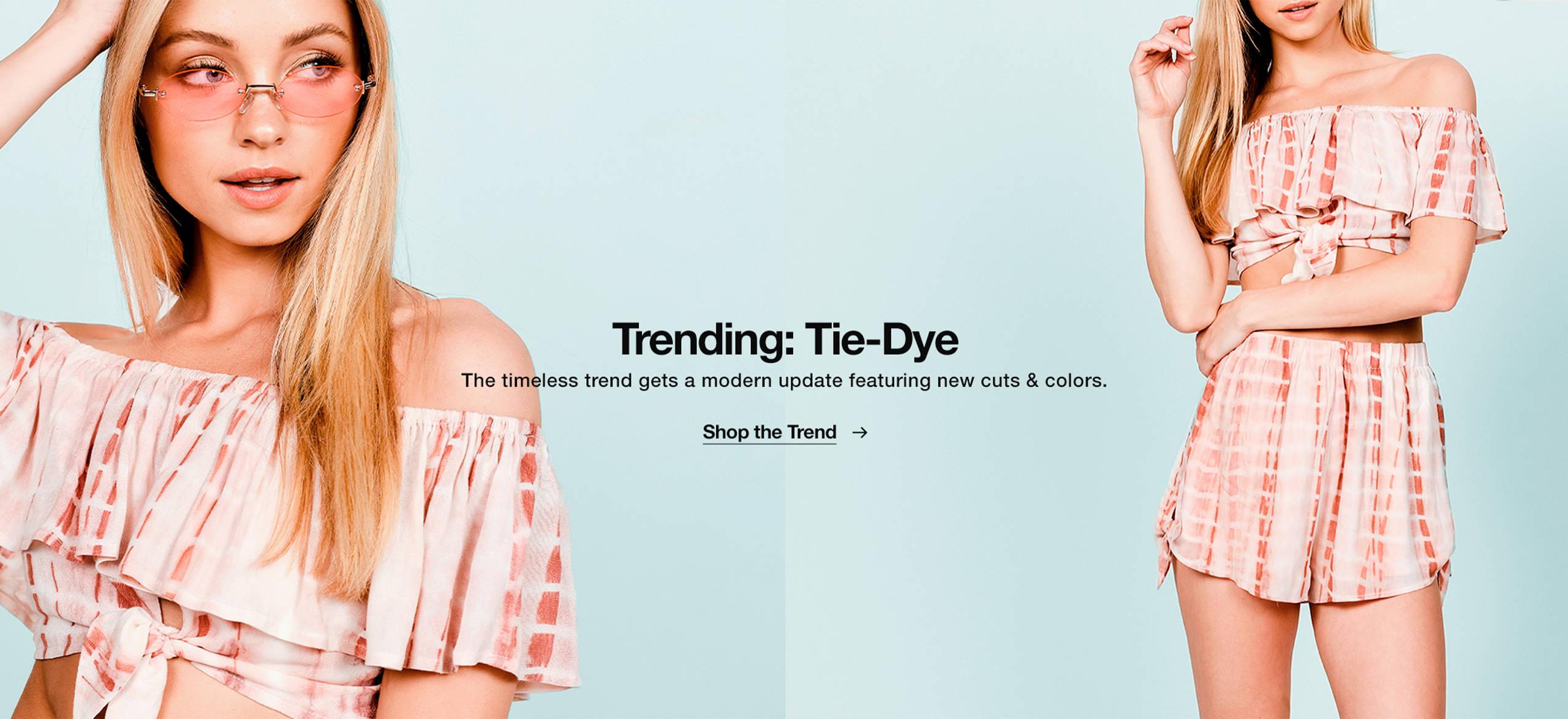 Trend: Tie-Dye