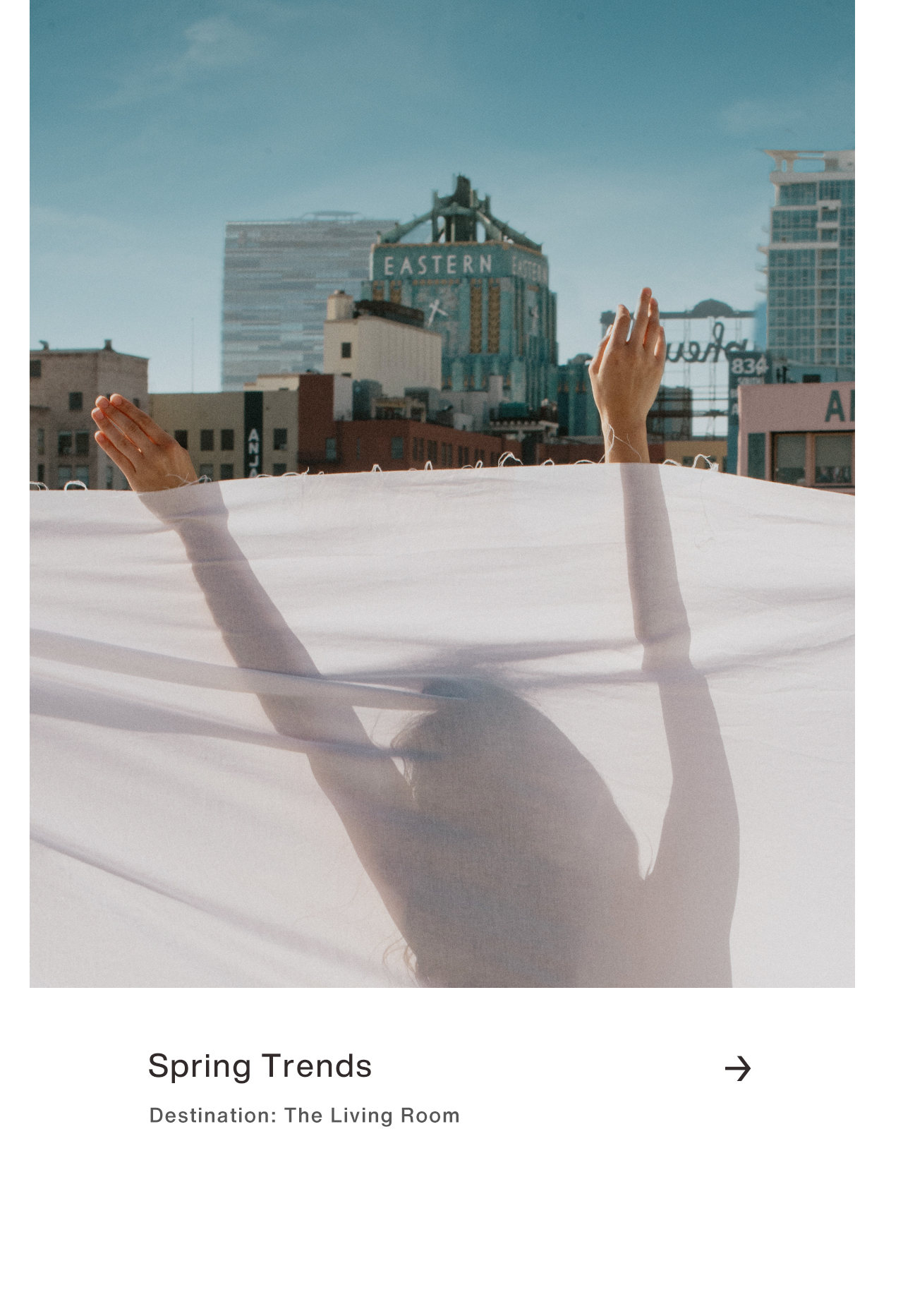 Spring Trends: Warm weather & sunshine are here.