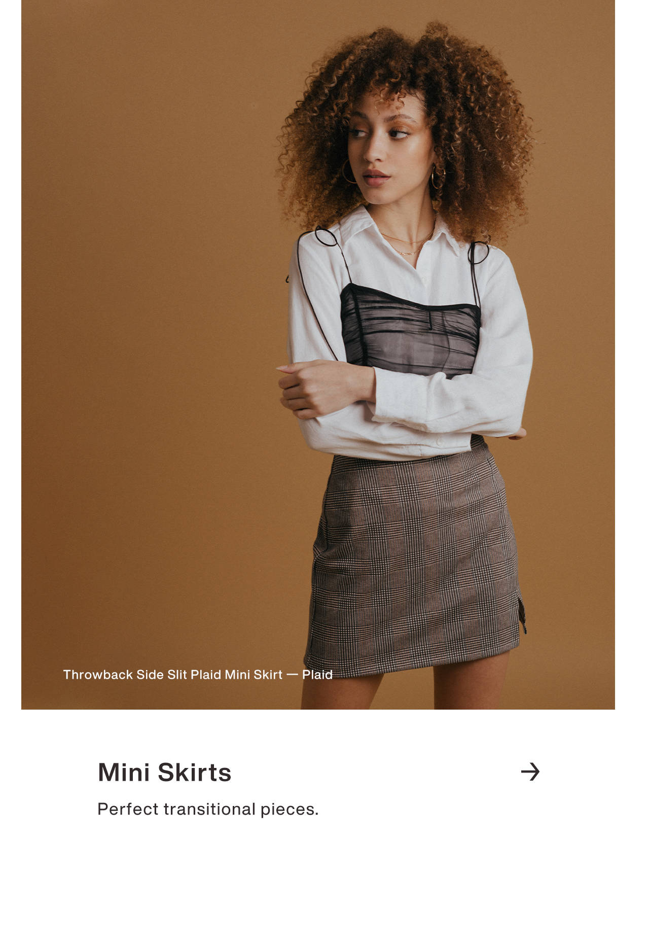 Mini Skirts - Perfect Transitional Pieces