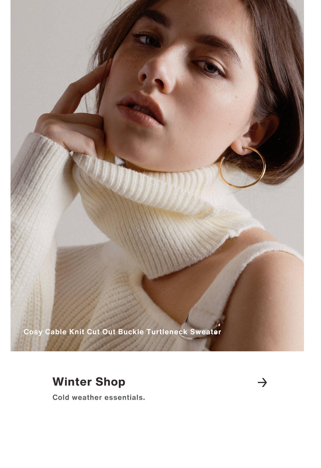 Winter Shop - Cold weather essentials.