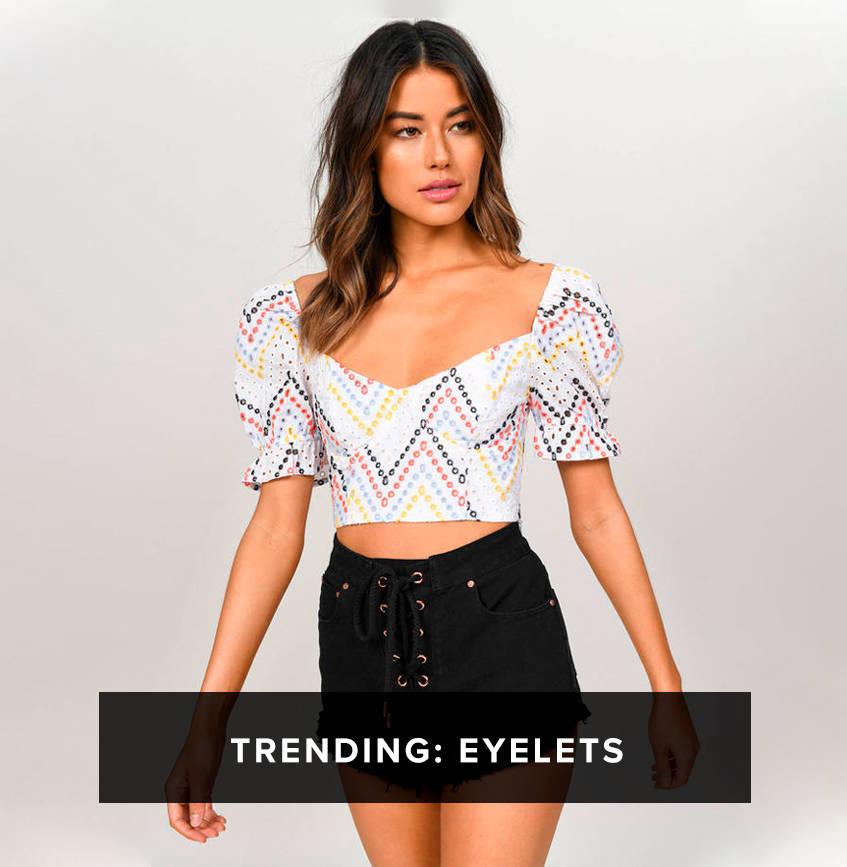 Trending: Eyelets