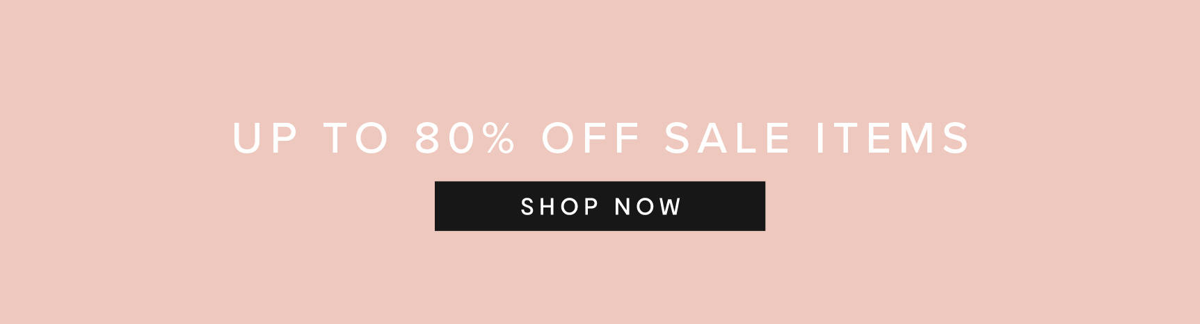 Up to 80% Off Sale Items