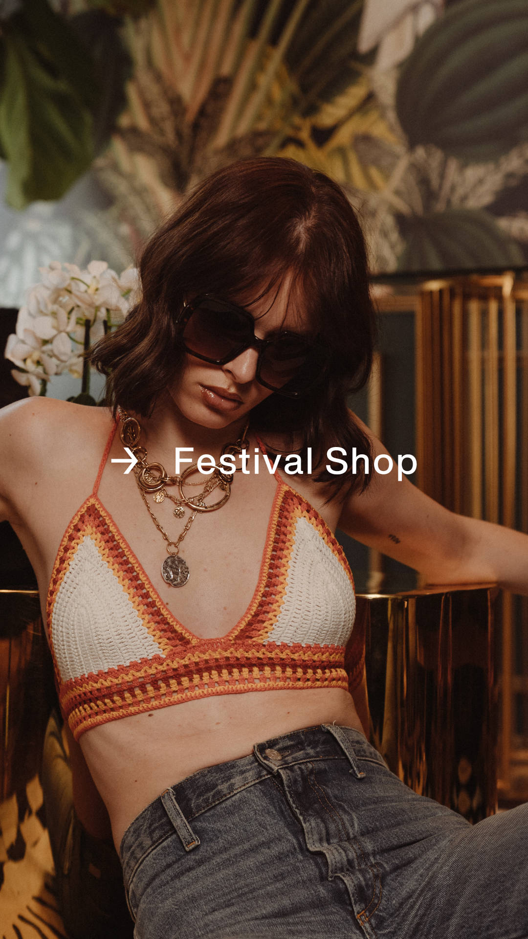 Festival Shop: Brighter than the stage lights.