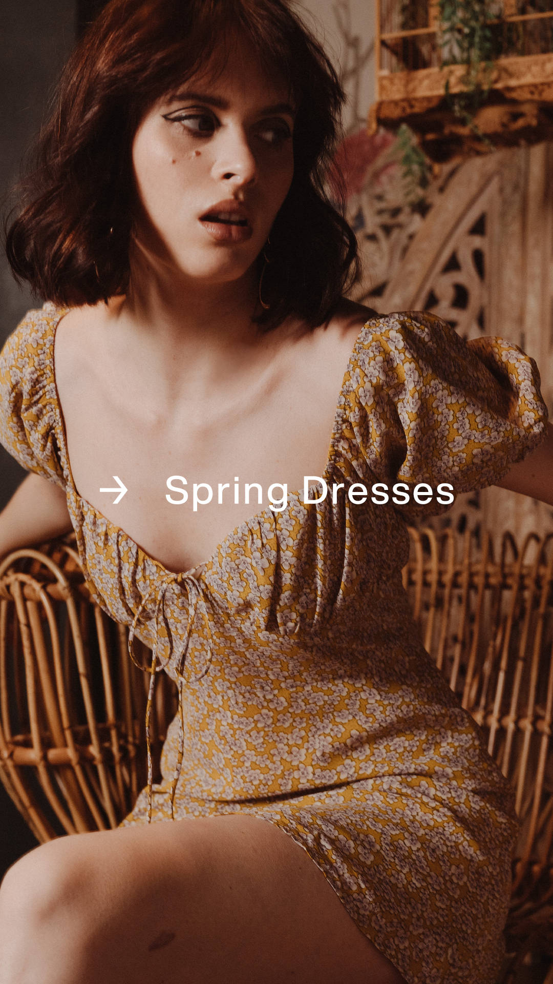 Spring Dresses: Warm weather & sunshine are here.