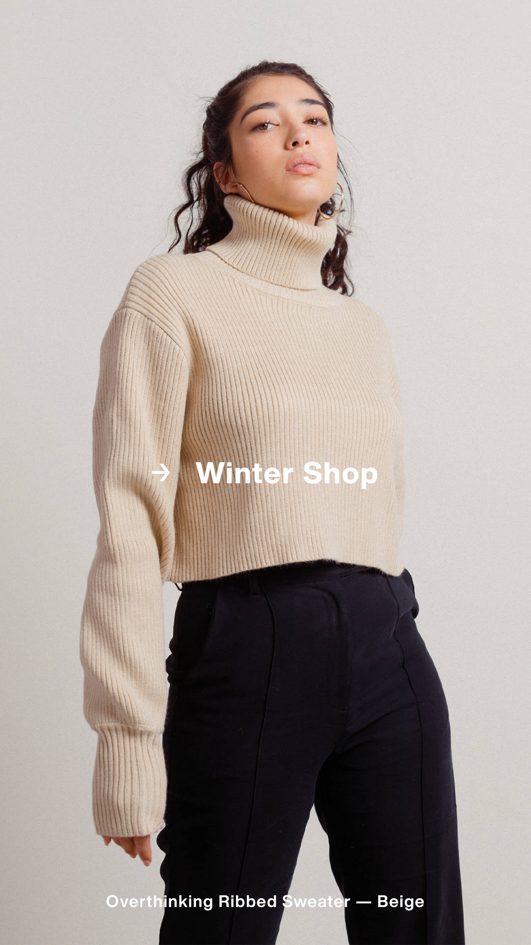 Winter Shop - Cold weather essentials.