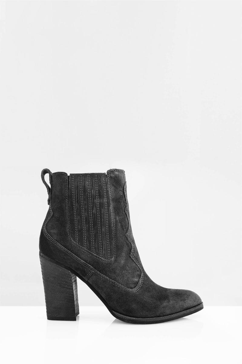 Dolce Vita Dolce Vita Conway Antracite Suede Booties