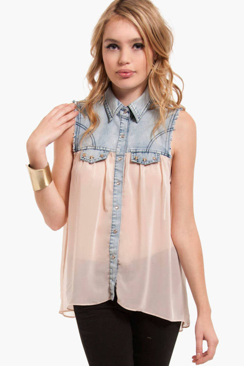 Star Struck Chiffon Top
