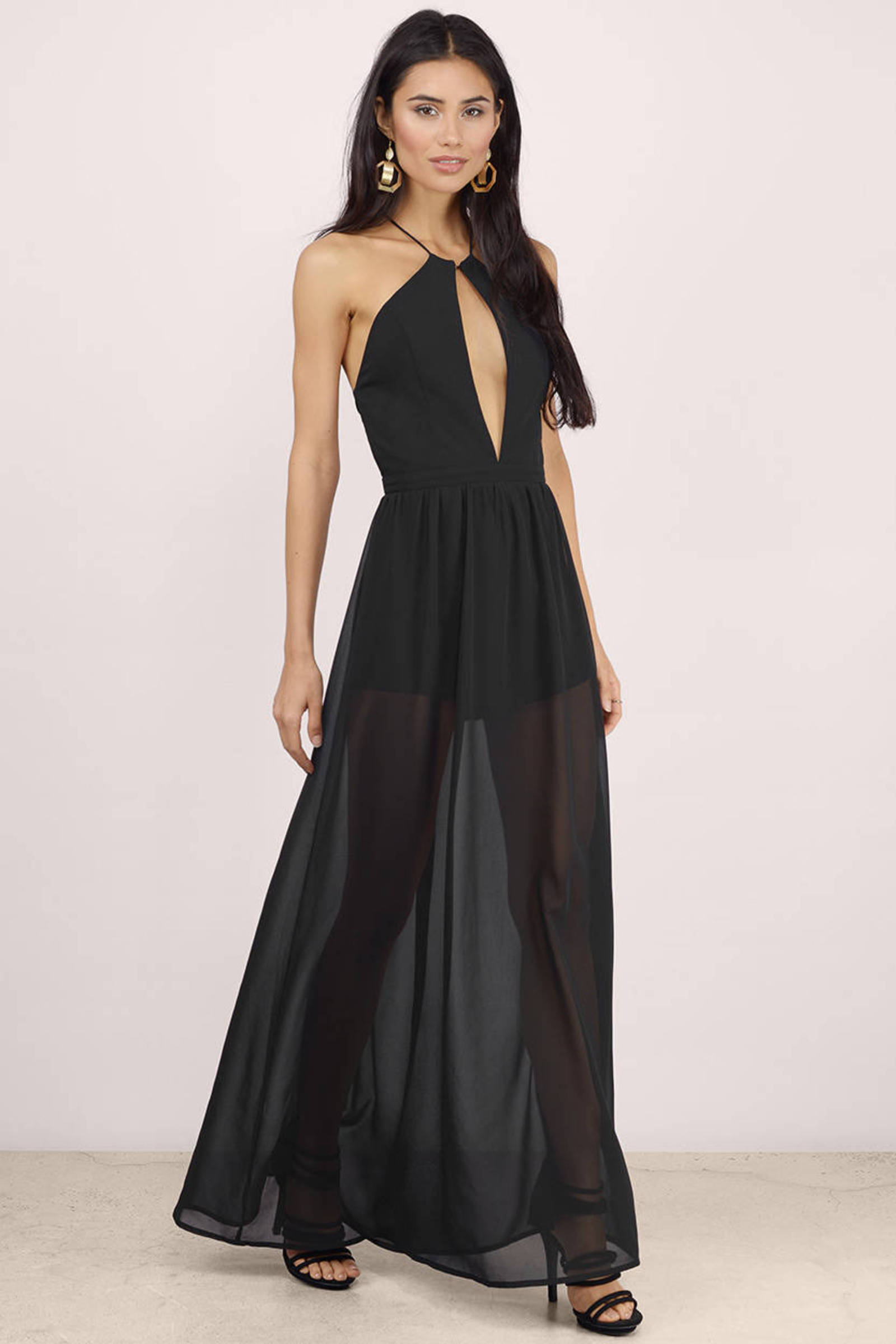 A French Affair Sheer Maxi Dress - $14.00 | Tobi