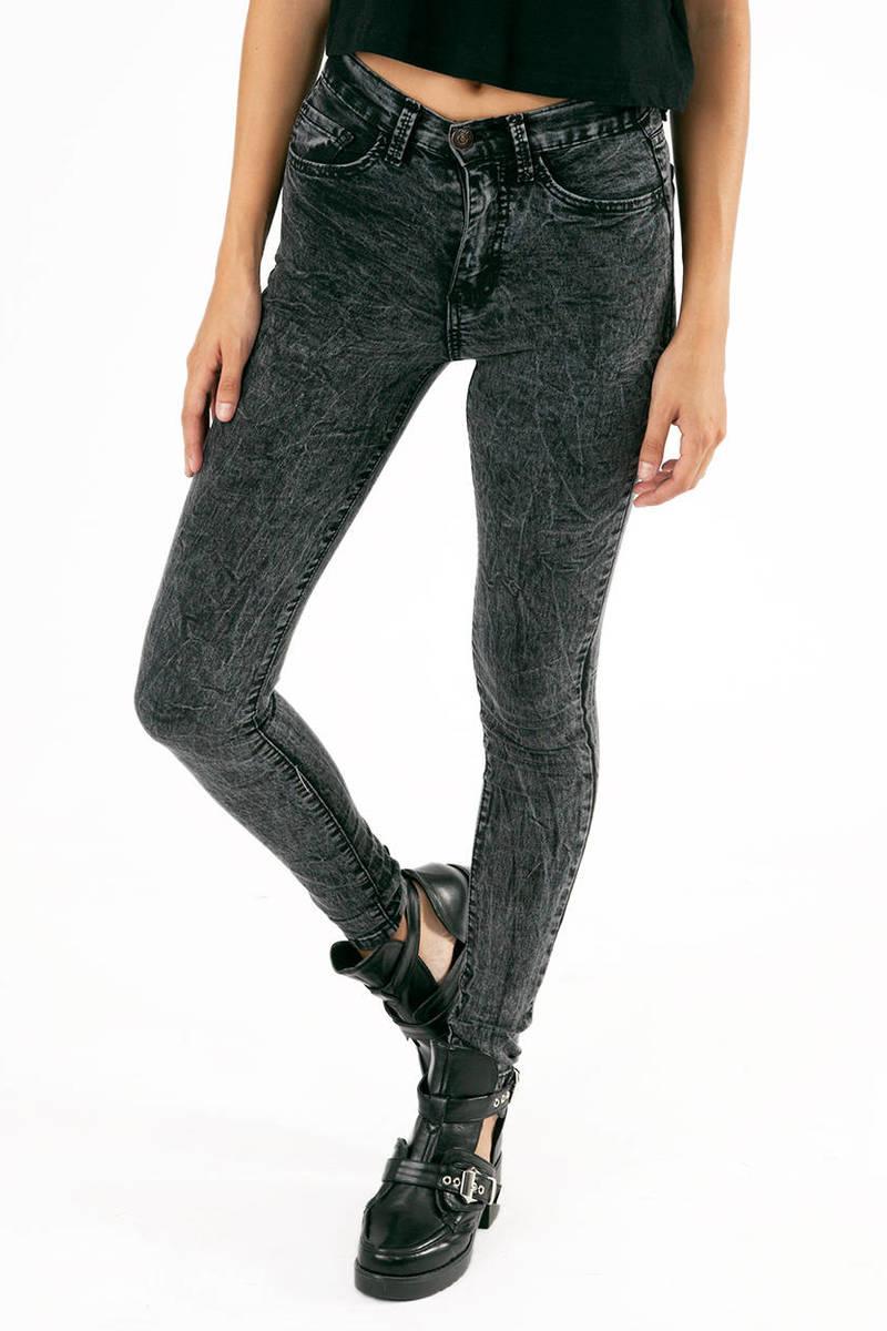 O2 Denim Cover Your Acid Skinny Jeans