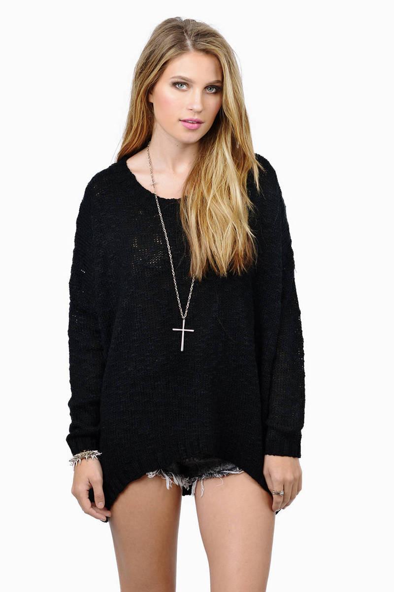 Adorn Marled Sweater
