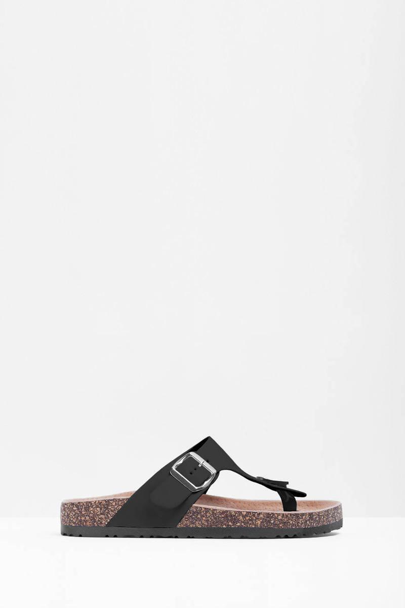 Aixa Thong Buckle Sandal