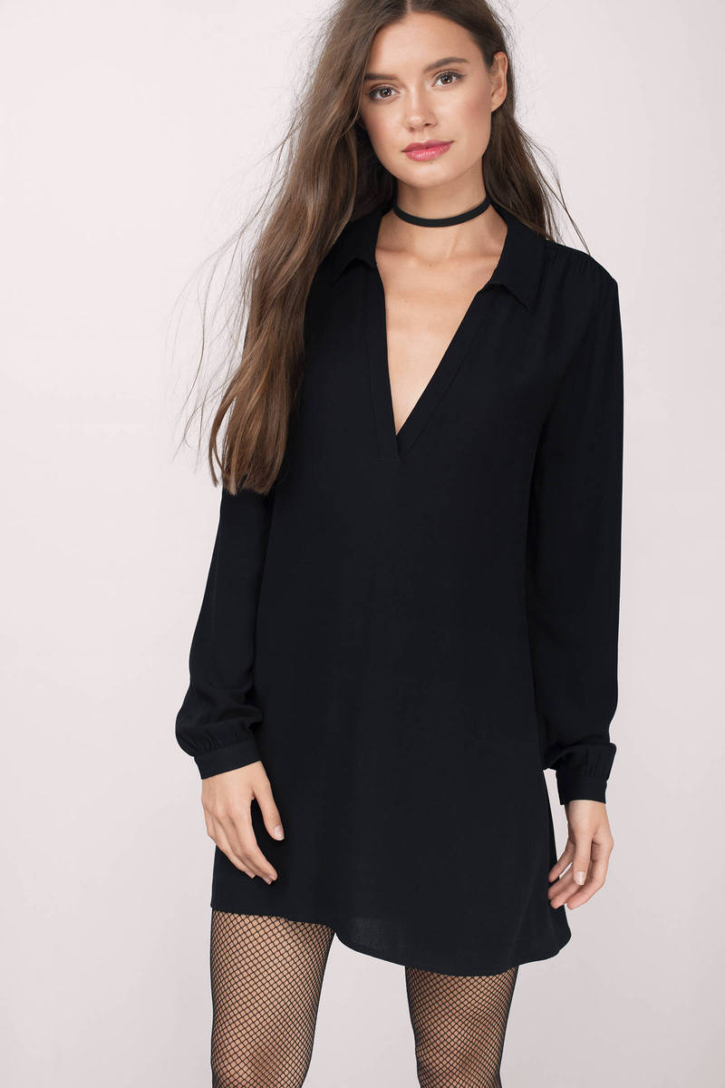 Alecia Olive Shift Dress