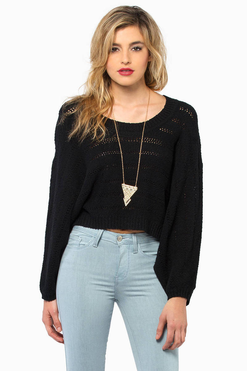 Alize Black Knitted Sweater