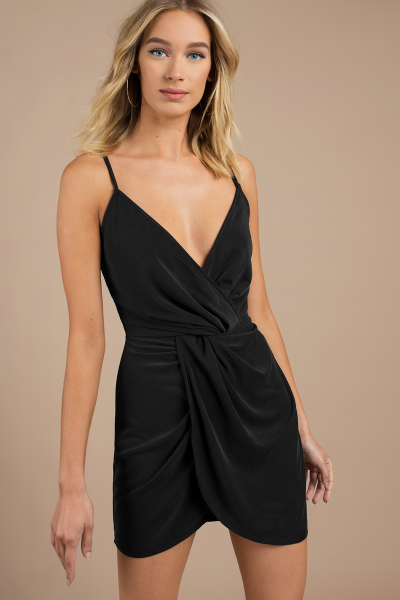 104cd261e0 Sexy Bodycon Dress - Tulip Hem Dress - Black Bodycon Dress -  31 ...