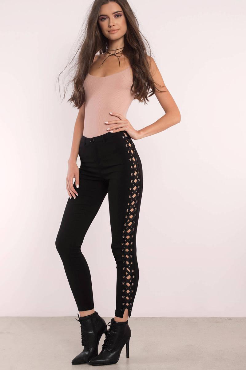 Amelia Black Pants