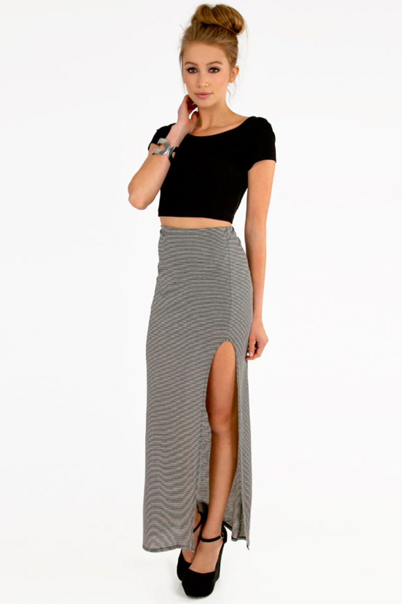 Jolie Striped Skirt