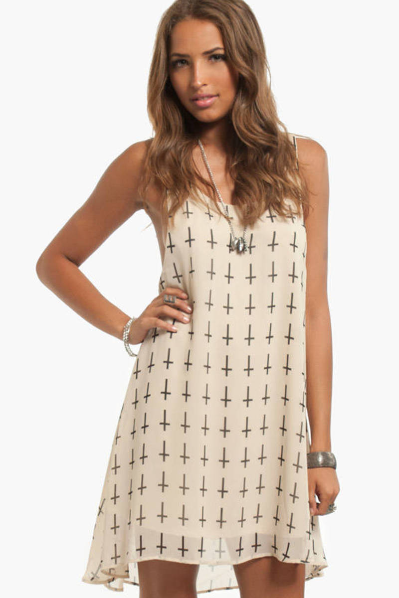 Crossin' Racerback Dress