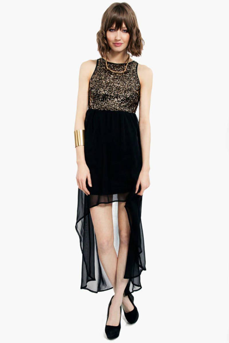 Mirrored Bodice Dress