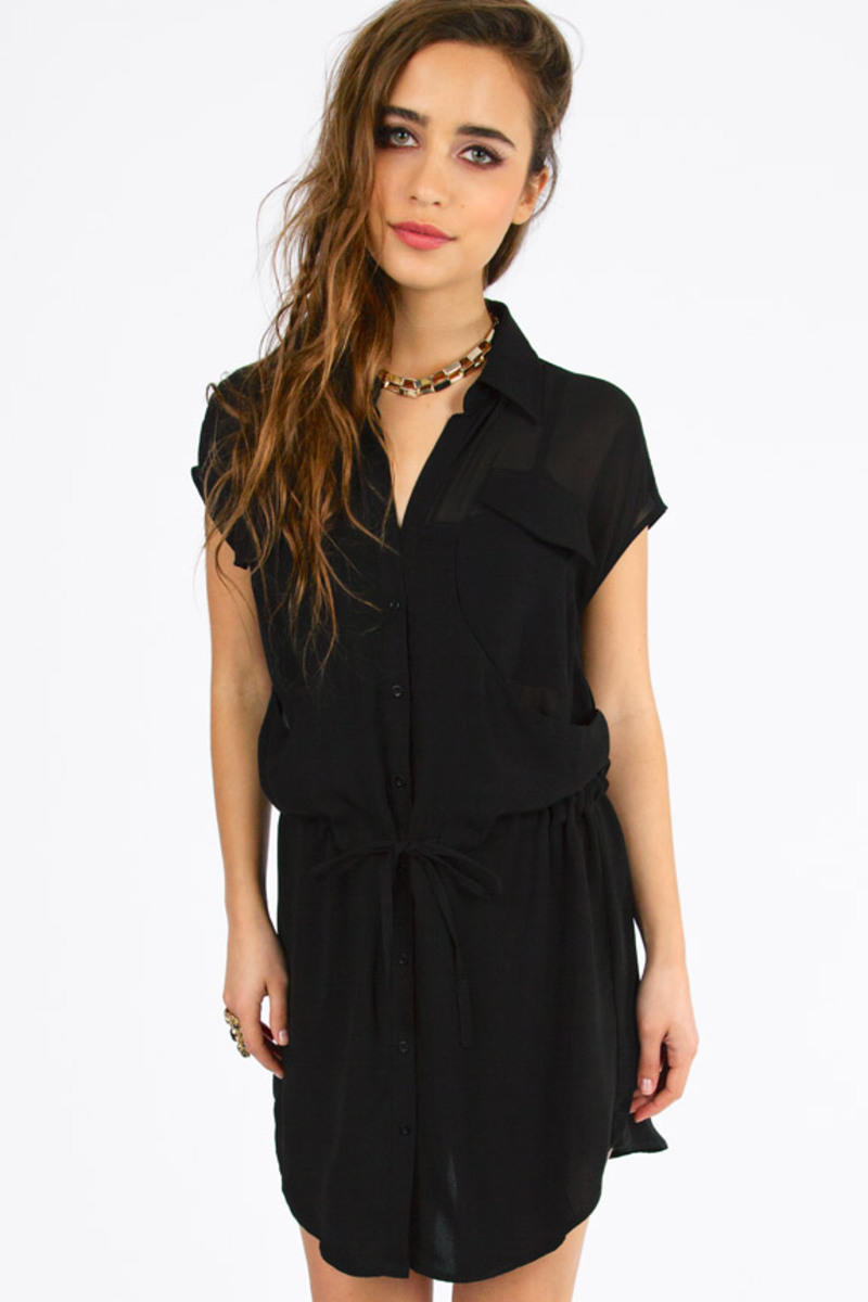 And Then The Waist Tie Dress