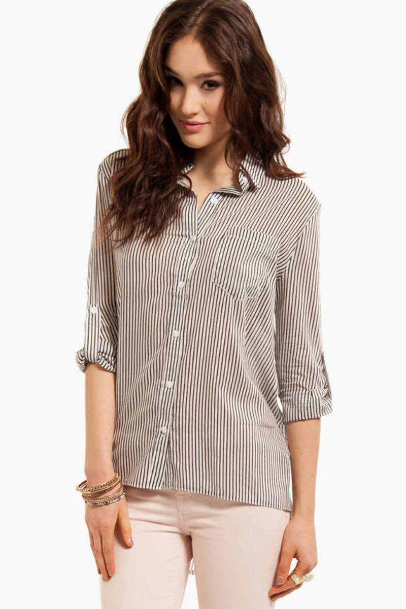 In Between the Lines Blouse