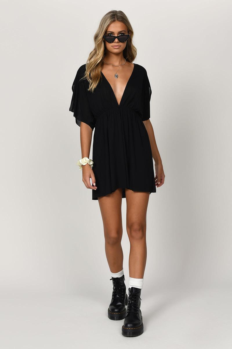 Angelique Rust Knit Skater Dress