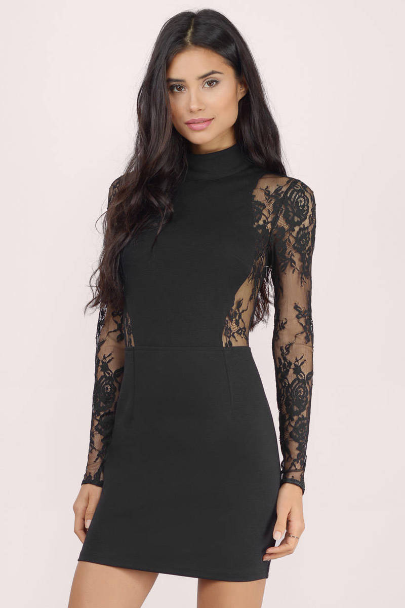 At First Sight Wine Sheer Lace Bodycon Dress