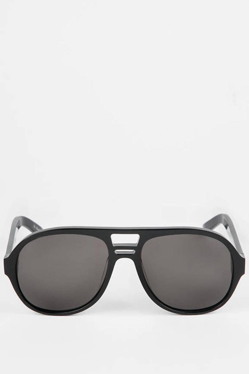 bb983eb8fe Black Atria Sunglasses In Black -  185