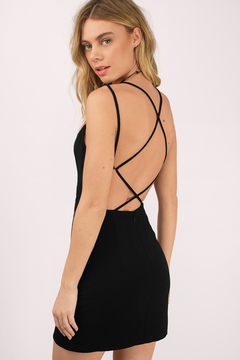 Be Your Lady Black Bodycon Dress