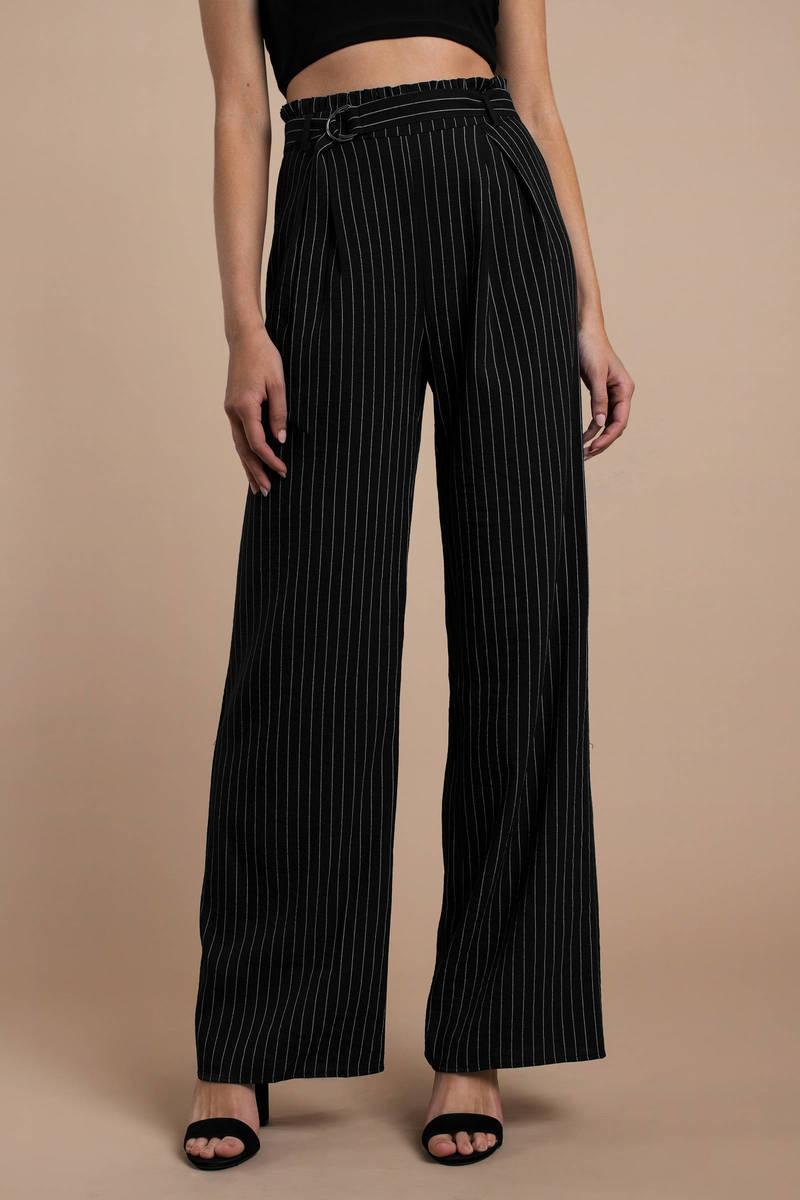 09e9198454 Black Pants - High Waisted Office Pants - Black Professional Pants ...