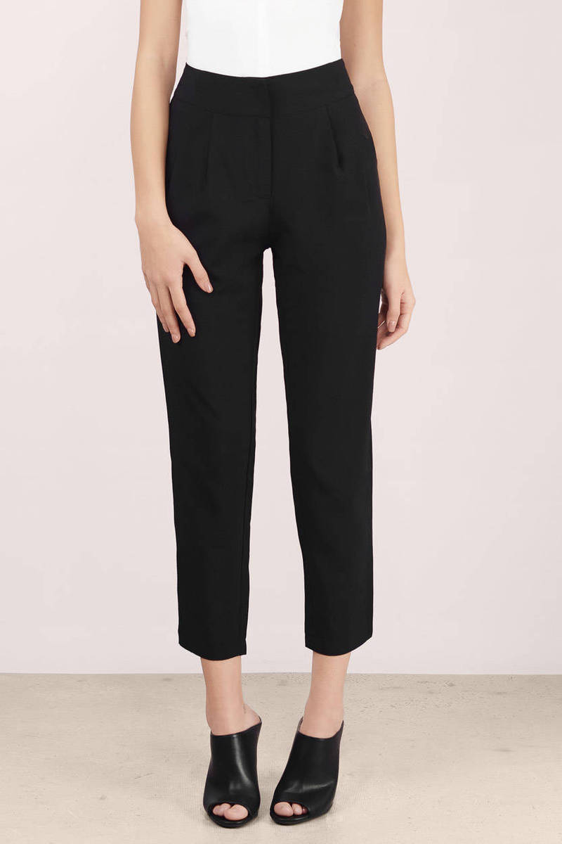 Bobbi High Waisted Cropped Pants
