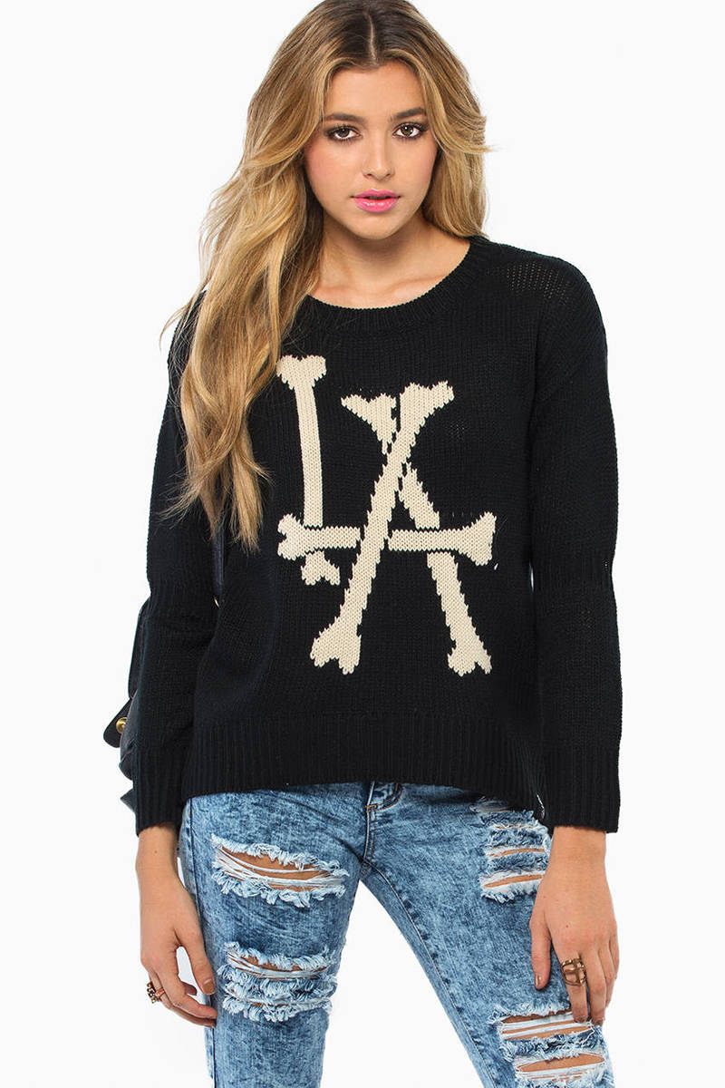 Lira Bones Sweater