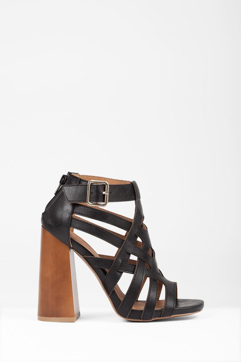 Boogie Black Heels