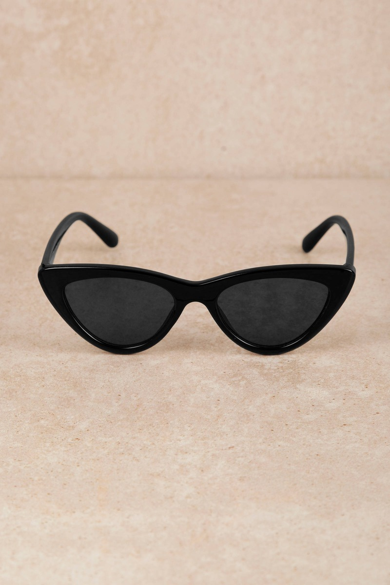 1841ffb1bd8 Boss Lady Black Cat Eye Sunglasses -  14