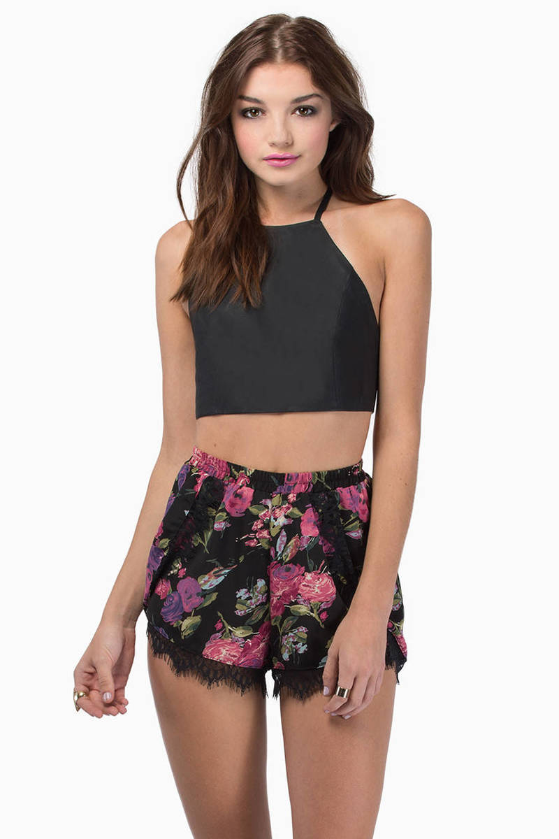 Bow Down Crop Top