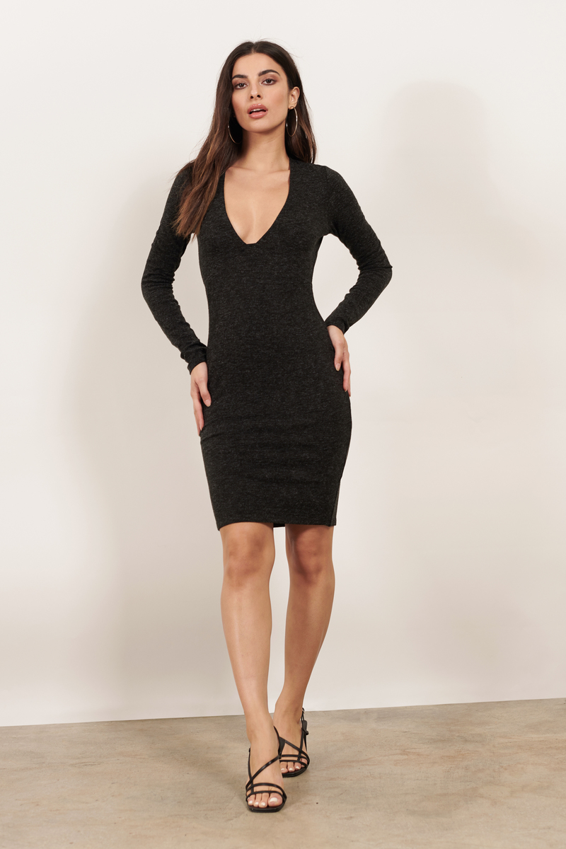 Brendon Black Bodycon Dress