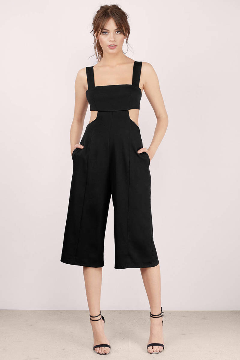 Brielle Black Jumpsuit