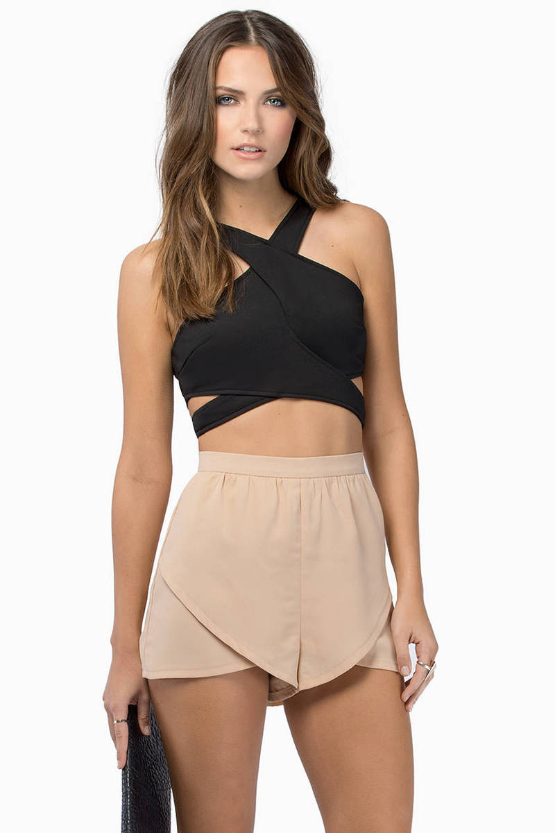 Britt Cross Crop Top