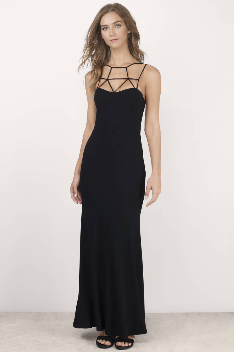 Cage The Beast Blush Maxi Dress