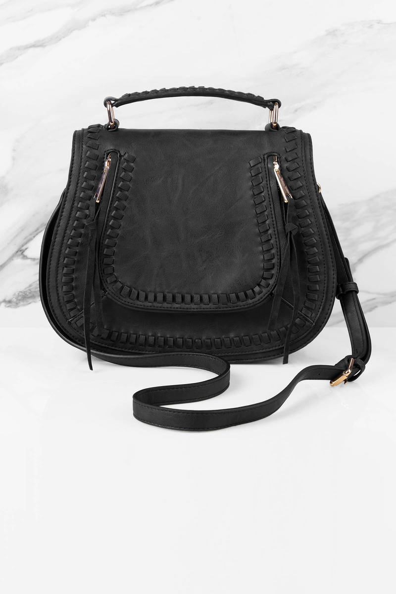 Urban Expressions Urban Expressions Chloe Faux Leather Shoulder Bag