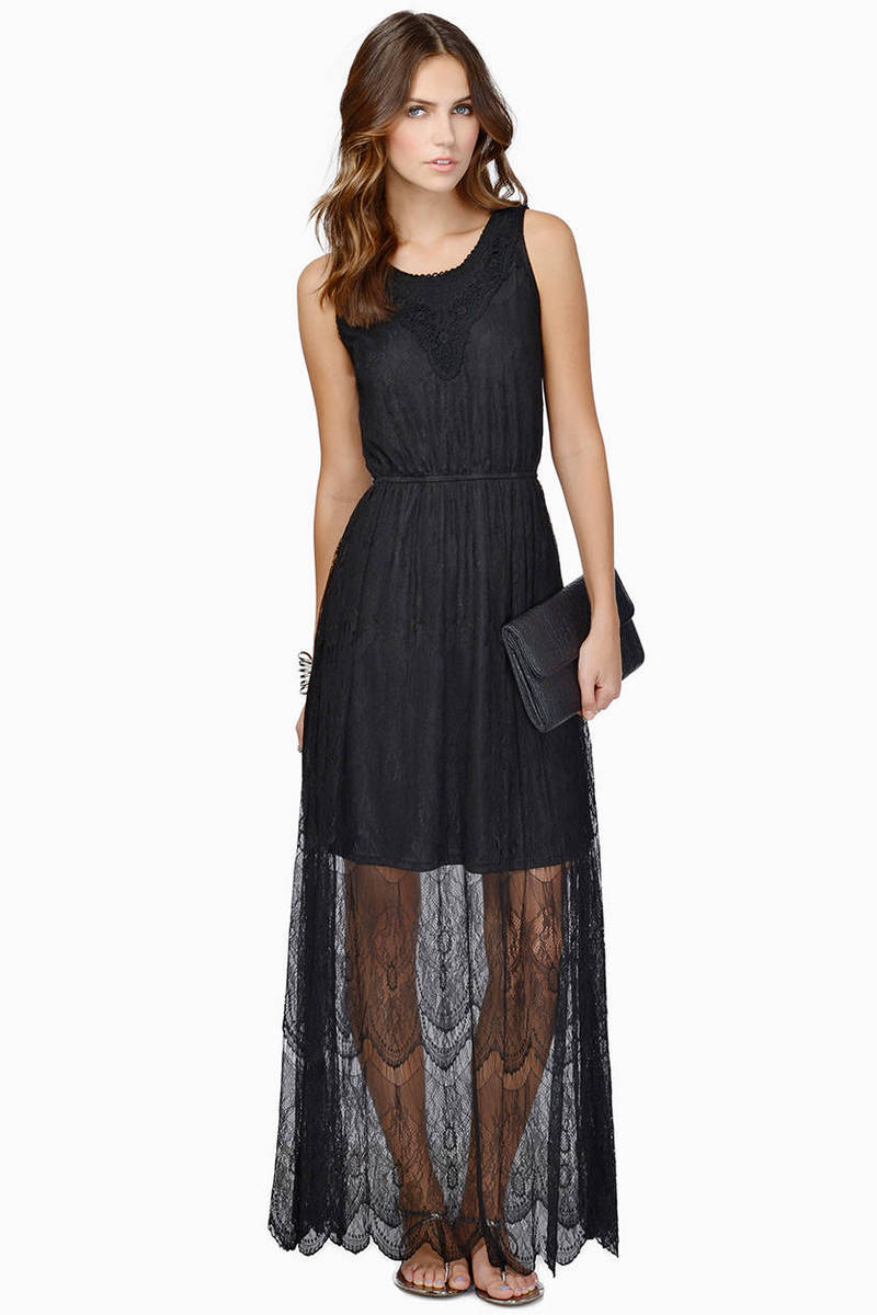 Christine Maxi Lace Dress