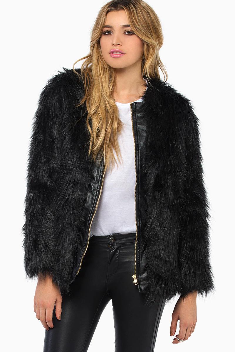 De Philo City Life Faux Fur Coat