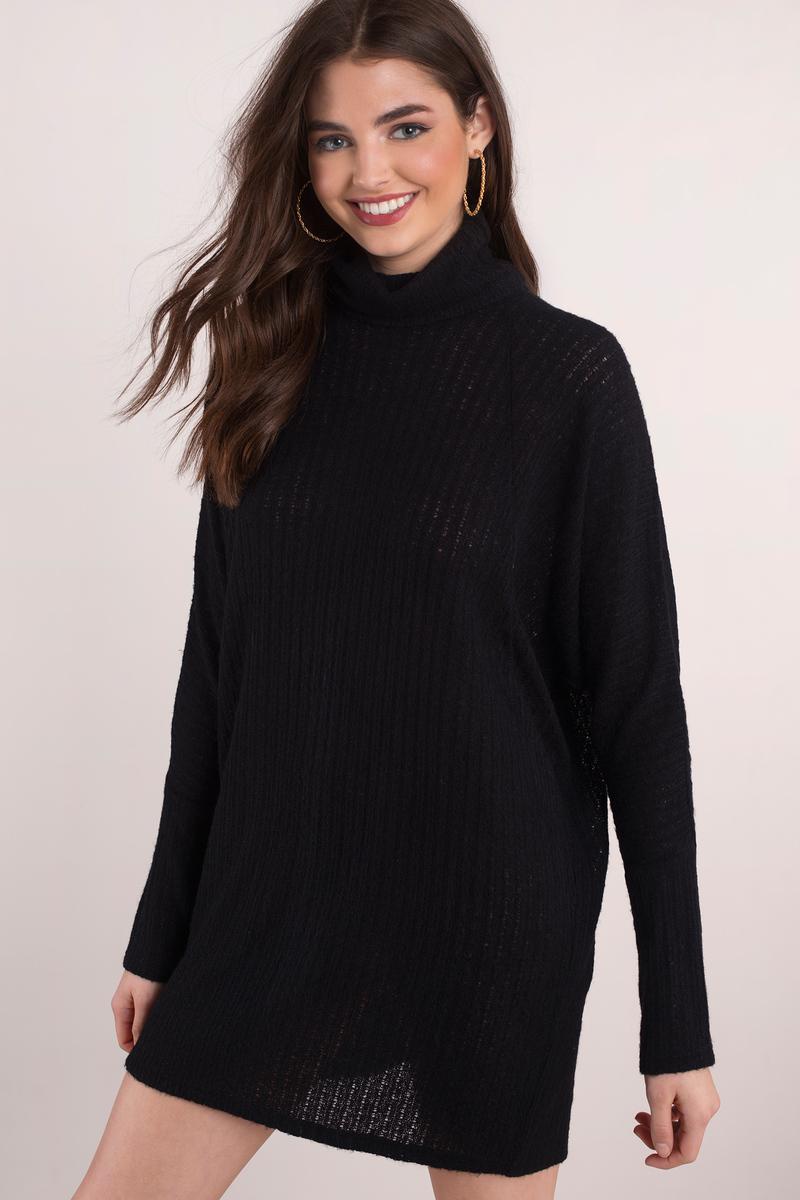Cozy Days Olive Sweater Dress