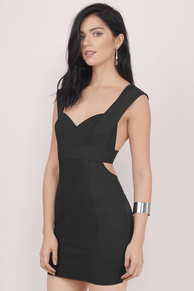 Crazy In Love Black Bodycon Dress