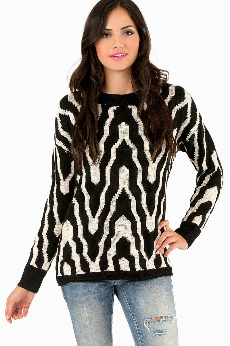 Waving Zena Knitted Sweater