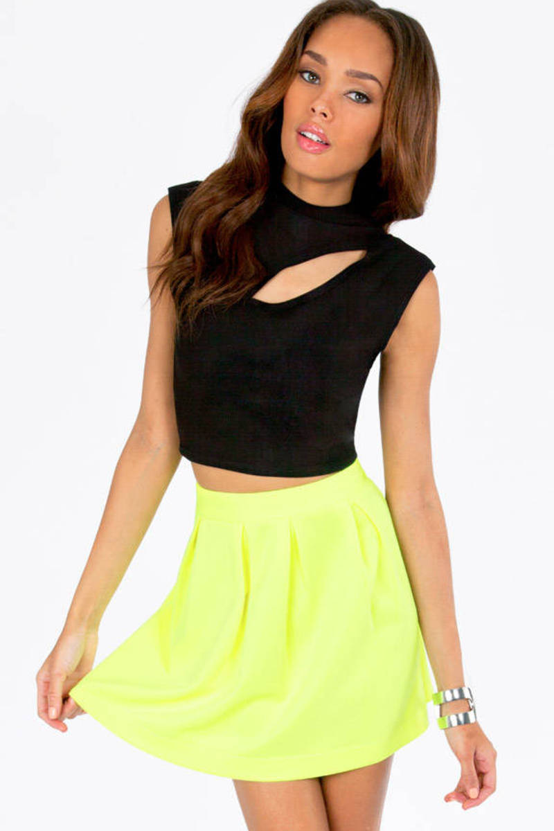 Crescent Crop Top