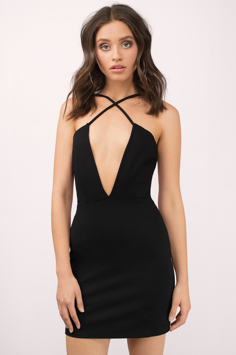 Dare Say Black Bodycon Dress