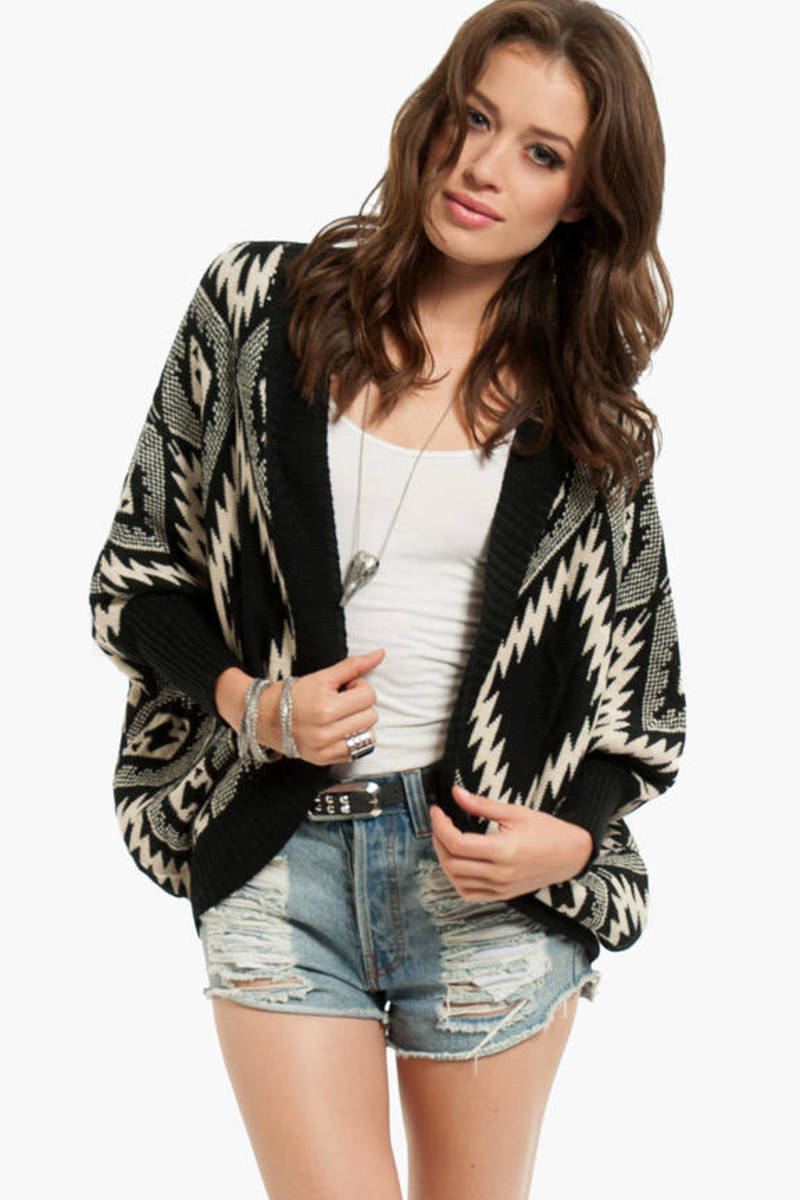 Diamante Aztec Cardigan
