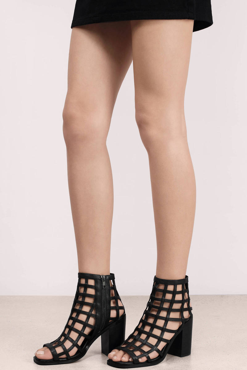 Sol Sana Sol Sana Diana Black Heeled Boots